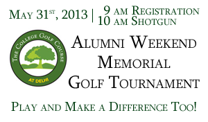 SUNY Delhi Golf Tournament Benefit for HCHS