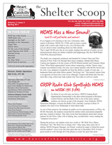 HCHS Summer 2013 Newsletter